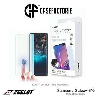 Zeelot LOCA Glue Tempered Glass for Samsung Galaxy S10