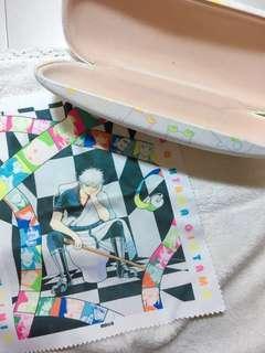 🚚 大銀魂展限定周邊商品眼鏡盒