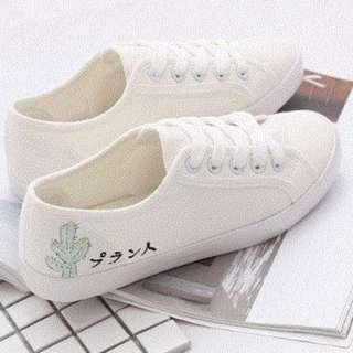 """""""Cactus"""" Canvas Shoe"""