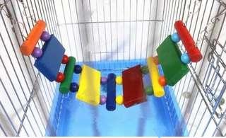 🚚 Hamster hanging bridge