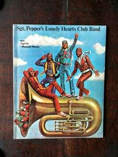 COLLECTIBLE BEE GEES - THE BEATLES SGT. PEPPER'S LONELY HEARTS CLUB BAND SHEET MUSIC BOOK