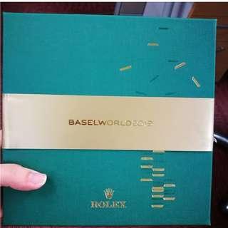 Rolex Baselworld 2019 Box
