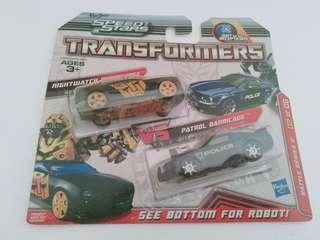 [BNIP] Transformers Speed Stars