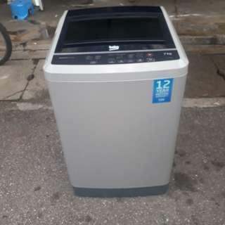 Mesin basuh,Beko,7.0kg,fully automaticVery Good Condition With One Month Warranty working Condition 100%  prefer self pic up trasport can manage will be charged  BuyerCan call/Sms Or Whatsup.0142259035  Taman pandan cahaya jalan 2/3