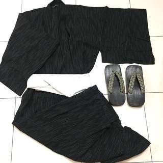 Men Kimono/Yukata Set (5 items)