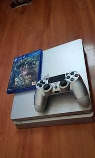 PS4 silm Console 500 gb Silver color