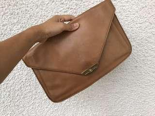 Authentic Gucci leather clutch