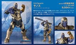徵! SHF Avengers Endgame Thanos 薩諾斯 滅霸 訂單 (ironman Mk 85, 50 set 2)