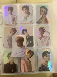 (wts) nct 127 hologram photocards