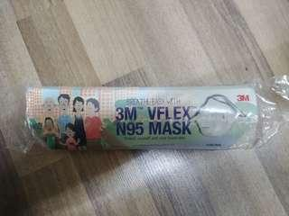 3m Vflex N95 mask(4 pcs) sealed