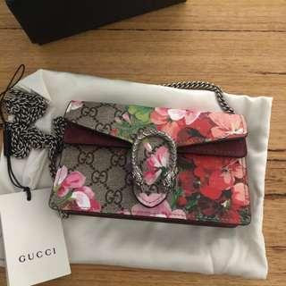 Gucci Dionysus blooms super mini authentic!