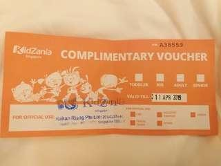 🚚 Kidzania Ticket