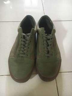 Sepatu vans oldskool winter moss gum