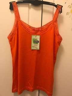清貨大減價!100% New 台灣莎娜美Satami 吊帶背心 $60兩件 (粉紅、橙、桃紅)