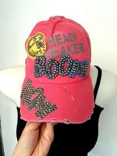 Topi Baseball / Topi Pantai / Topi Pink / Topi gaul / Topi olahraga / Beach hat/  Pink hat / Topi blink blink