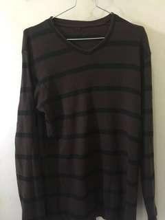 Sweatshirt V-neck Lengan Panjang GAP unisex #prelovedwithlove #dibuangsayang