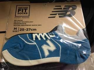 New Balance 996 997 socks NB 鞋形短襪