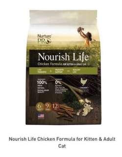 🚚 Nurture Pro Nourish Life Dry Cat Food Chicken Formula (5Kgs)