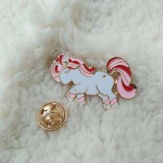 Bros Pin Enamel Lucu Bentuk Unicorn Unik Murah Hiasan Tas Jaket Baju