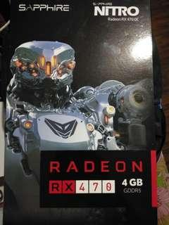 Sapphire Nitro RX470 4gb DDR5