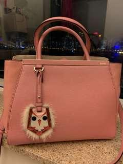 Fendi 2 Jours Baby Pink Tote
