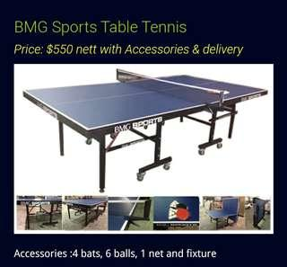 BMG SPORT TABLE TENNIS