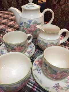 Tea set made in England