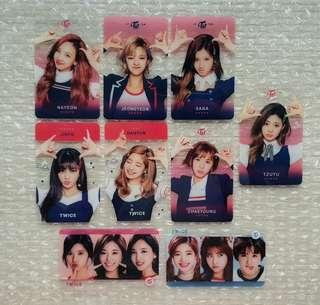 "TWICE ""SIGNAL"" Transparent Photocard"