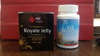 Royale jelly & bee propolis hdi