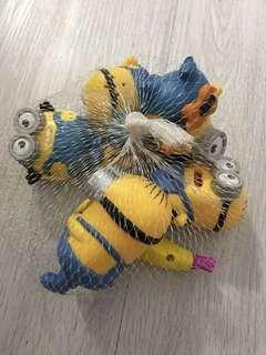 Minions 玩具(5大1小)