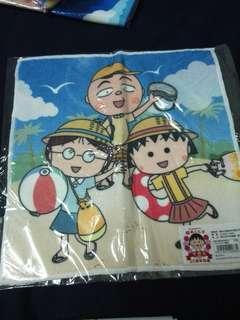 🚚 日本帶回  正版小丸子手巾  25週年特版