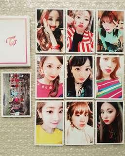 TWICE Signal Official Pre-order Photocards