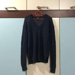 Uniqlo Navy blue Knitwear