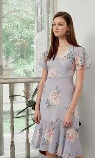 Vivienne Floral Midi Dress
