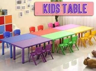 KIDS KINDERGARTEN TABLE