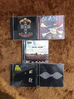 CD Langka! Arctic Monkey, Guns n Roses, Oasis ORI100%