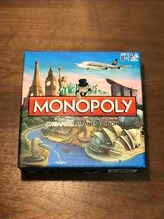 🚚 Singapore Airlines (SIA) Monopoly