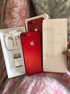 iPhone 7 plus 256 gb red edition