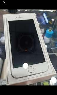 4/3美iPhone6.16G.plus.銀色.9成新