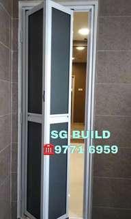 Aluminium Bifold door / folding door
