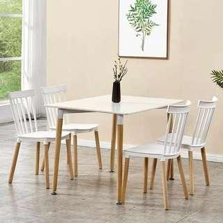 Dining Set 4chairs 1Table