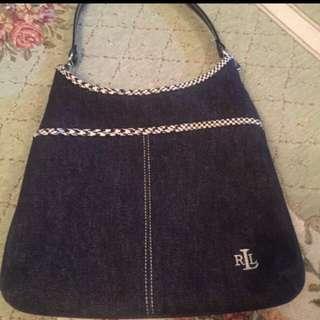 Ralph Lauren Denim Bag