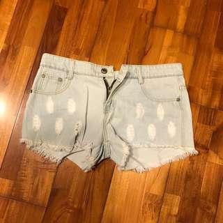 🚚 淺牛仔短褲