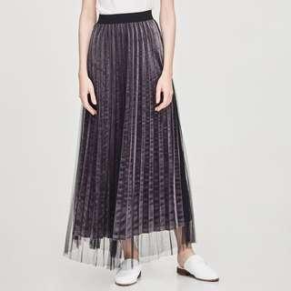 LALU Layered Pleated Skirt