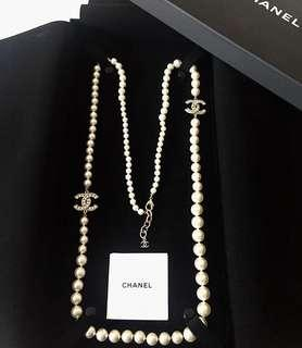 🚚 Chanel Pearl Necklace