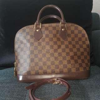 louis vuitton alma pm in damier ebene
