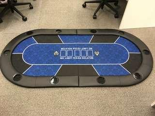 Texas Hold 'Em Poker Table Top (Fold-Up - 160x100)