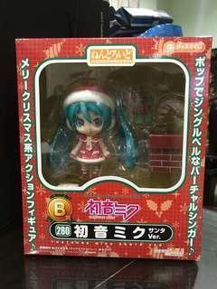 Nendoroid Hatsune Miku Santa Ver. B赏 New