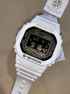 中古 二手 G-Shock 25th Anniversary limited edition DW-5025B-7JF Rising White 扭底 2008 接近全新 寶盒 全套齊 DW-5000 DW5000