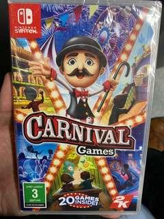 🚚 Nintendo Switch Carnival Games